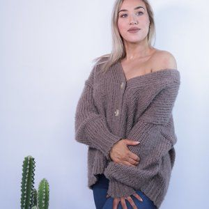 Sweaters - SOLD-Knit Cardi